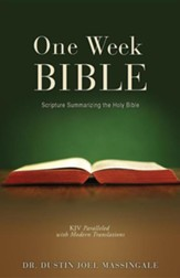 One Week Bible, Paper
