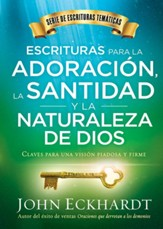 Escrituras para la adoración, la santidad y la naturaleza de Dios, Scriptures for worship, Holiness, and the nature of God