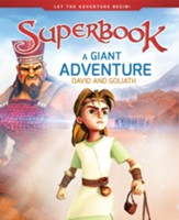 Superbook: A Giant Adventure-David and Goliath, Hardcover