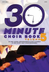 30-Minute Choir Book, Volume 5 (Split-Track Accompaniment)