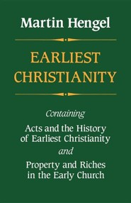 Earliest Christianity  -     By: Martin Hengel