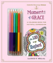 Colorful Blessings: Moments of Grace: Deluxe Edition with Pencils