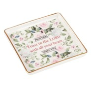Trust In The Lord Trinket Tray
