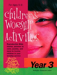 Children's Worship Activities Year 3