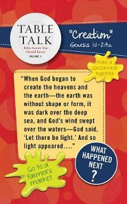 Table Talk Volume 1 - Bible Stories You Should Know - Table Toppers (5 Sets of 6)