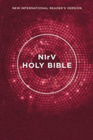 NIrV Outreach Bible--softcover, pink
