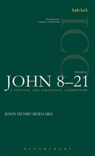 St. John 8-21, International Critical Commentary