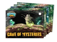 Cave Cards, 7 packs of 20 cards (one pack per cave)