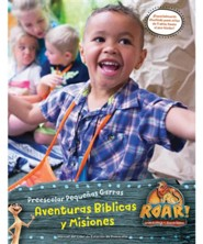 Roar: Manual del L&#237der de Preescolar Peque&#241as Garras Aventuras B&#237blicas y Misiones (Little Paws Preschool Bible Adventures & Missions Leader Manual, Spanish Edition)
