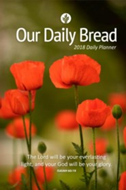 Our Daily Bread--2018 Daily Planner