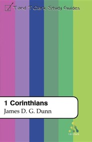 1 Corinthians  -     By: James D.G. Dunn