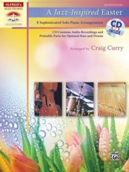 A Jazz-Inspired Easter: 8 Sophisticated Solo Piano Arrangements, Book & CD