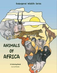 Animals of Africa  -     By: Lisa Rhodes(ILLUS)     Illustrated By: Lisa Rhodes