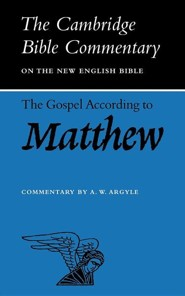 The Gospel According to Matthew  -     By: Aubrey W. Argyle