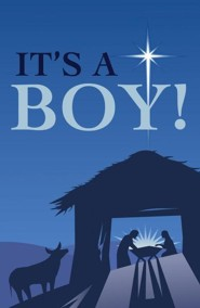 It's a Boy! (ESV), Pack of 25 Tracts