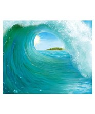Shipwrecked: Surf Wave Mural