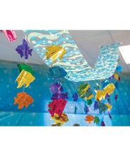 Shipwrecked: Tropical Fish Ceiling D&#233cor