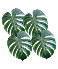 Fabric Palm Leaves, pack of 4