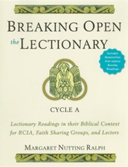 Breaking Open the Lectionary