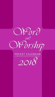 2018 Word and Worship Pocket Planner