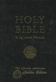 KJV African-American Jubilee Bible, 400th Anniversary Edition   -     By: American Bible Society