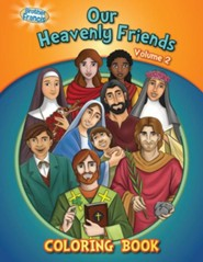 Coloring Book: Our Heavenly Friends V2