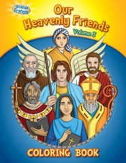 Coloring Book: Our Heavenly Friends V3
