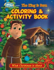 Coloring & Activity Book: The King Is Born