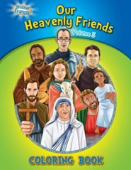 Coloring Book: Our Heavenly Friends V5