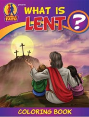 What Is Lent Coloring Book