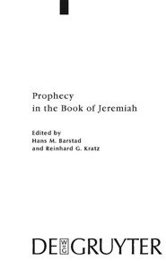 Prophecy in the Book of Jeremiah