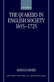 The Quakers in English Society, 1655-1725