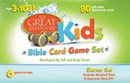 The Great Adventure Kids Bible Card Game Set: Starter Set  -     By: Jeff Cavins, Emily Cavins