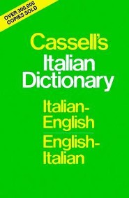 Cassell's Italian Dictionary (Thumb-Indexed Version): Italian-English English-Italian  -     By: Piero Rebora