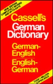Cassell's German Dictionary: German-English, English-GermanRevised, Biling Edition  -     By: Harold T. Betteridge