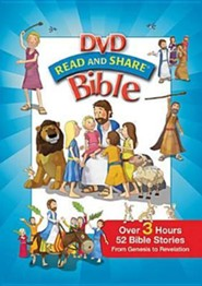 Read and Share DVD Bible, Volumes 1-4