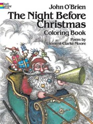 The Night Before Christmas Coloring Book, Edition 0081  -     By: Clement C. Moore