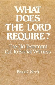 What Does the Lord Require? The Old Testament Call to Social Witness  -     By: Bruce C. Birch