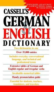 Cassell's German English Dictionary  -     By: H.C. Sasse, Dr. J. Horne, Dr. Charlotte Dixon