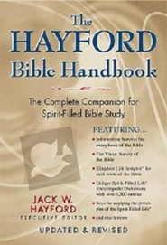 The Hayford Bible Handbook  - Slightly Imperfect