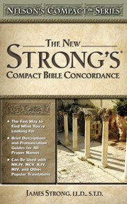 The New Strong's Compact Bible Concordance - Slightly Imperfect