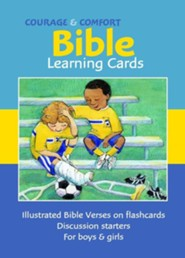 Courage & Comfort Cards: Children's Bible Learning Cards  -     By: Vicky Enright