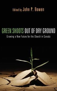 Green Shoots Out of Dry Ground