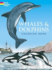 Whales and Dolphins Coloring Book  -     By: John Green