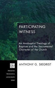 Participating Witness  -     By: Anthony G. Siegrist