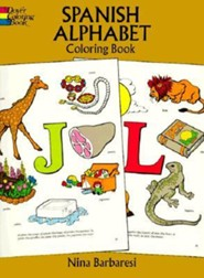 Spanish Alphabet Coloring Book  -     By: Nina Barbaresi