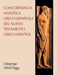 Concordancia analmtica greco-espaola del Nuevo Testame   - Slightly Imperfect  -