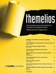 Themelios, Volume 40, Issue 2  -     Edited By: D.A. Carson