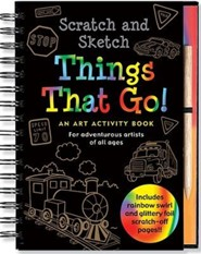 Scratch & Sketch Things That Go: An Art Activity Book for Adventurous Artists of All Ages  -     By: Mara Conlon     Illustrated By: Martha Day Zschock