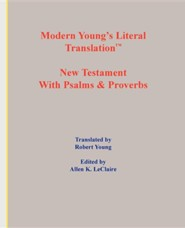 Modern Young's Literal Translation New Testament, Paper